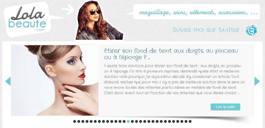 Blog beauté Lola