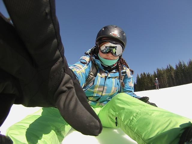 Sport glisse neige
