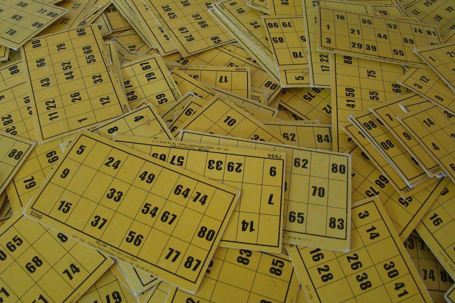 Cartons de loto